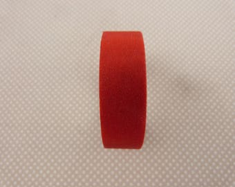 Roll of masking tape glittery Red