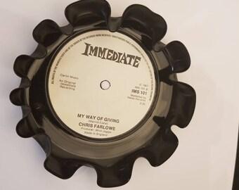 Vinyl single bowl