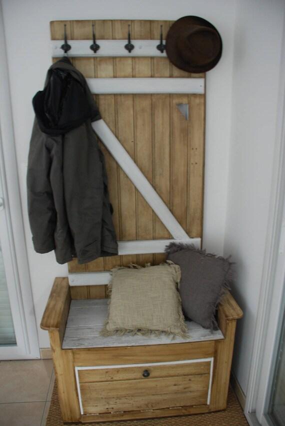 Relativ Meuble d'entrée fait avec du bois de palette AP43