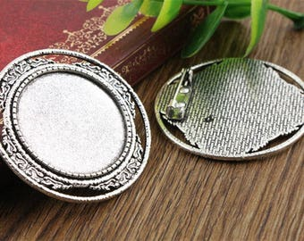 30mm 1 brooch cabochon 30 mm within 15 days