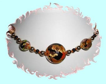 Necklace Bead MURANO - Rodena by riviera-pearl