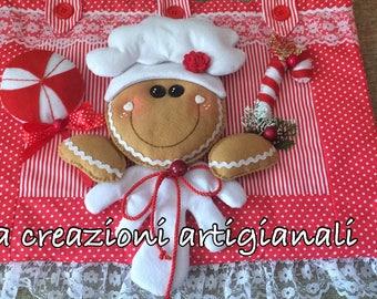 Christmas ginger Coprifono