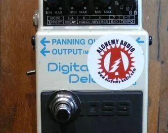 Boss DD-5 DIgital Delay Pedal With Tap Tempo Modification