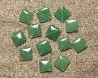Stone beads - Aventurine green Argyle 15x12mm - 2pc 4558550035219 bag