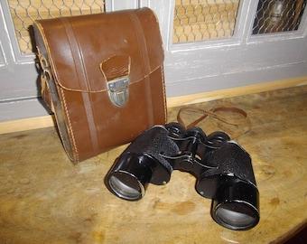 Binoculars and case Colmont Helium 10 x 40 60's