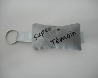 key chain mini pillow custom fabric
