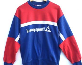 Vintage Le Coq Sportif Multicolour Sweatshirt