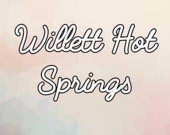 Willett Hot Springs - Digital