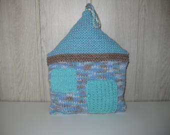 woolen House shape pillow