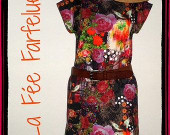 """Dress """"Canvas"""" cotton thick 34 to 50"""