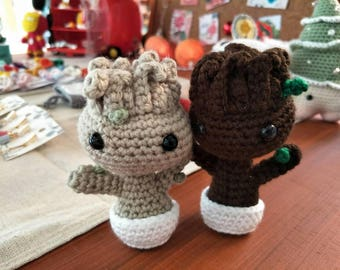 Amigurumi Baby Groot