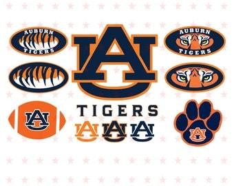 Auburn Tigers Svg, Auburn Svg, Tigers Svg, Auburn Tigers Clipart, Auburn Tigers Cut, Auburn Tigers File Cut, Auburn Tigers Eps Pdf Dxf