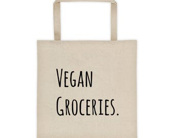Vegan Grocery Tote bag
