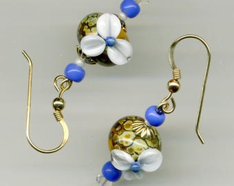 -30% earrings 14KT gold/14KT gold plated / gold plated