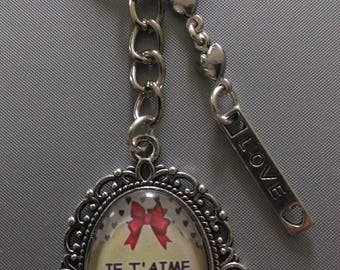 Keychain I love you with all my heart