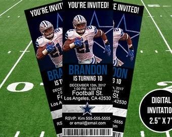 Dallas Cowboys Birthday/Event Invitation