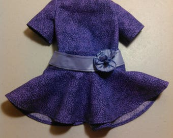 18 inch doll Purple skirt and top