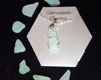 Wrapped Sea Glass Jewelry