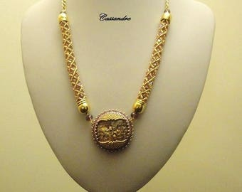 Necklace planet Cassiope