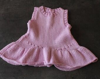 Pink Ruffle dress 3 months