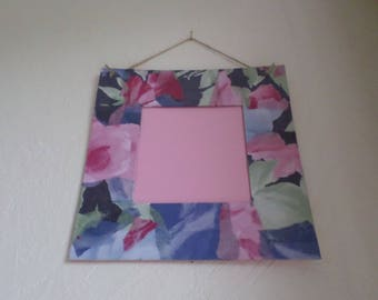 very decorated with decopatch paper cardboard frame