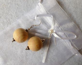 "Earrings ""the forest"""