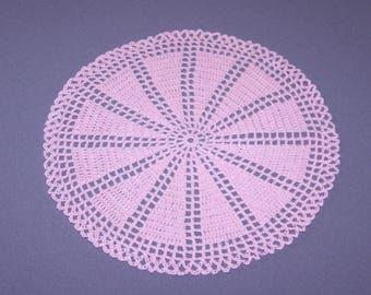 Doily crochet rose 27cm