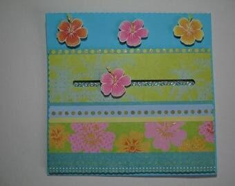 Mobile floral card