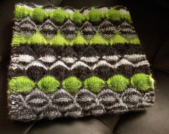 Very beautiful snood handmade Green