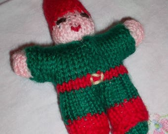 Tiny baby Christmas red and green