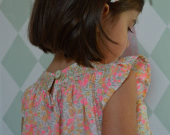 blouse liberty wiltshire lemon curd and smocking