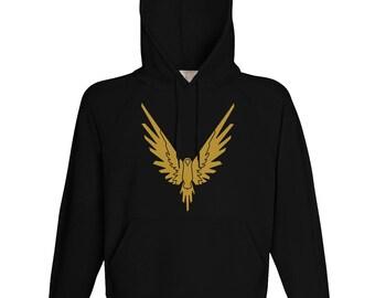 Logan Paul  Hoodie// Gold Maverick//Logan Paul Sweatshirt// Logan Paul Bird// Logan Paul Sweater//