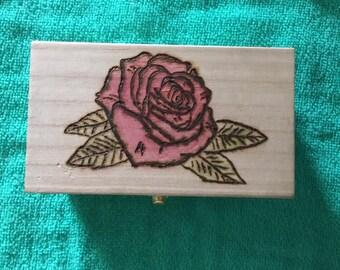 Wood Box, Jewelry Box, Personalized Box, Trinket Box