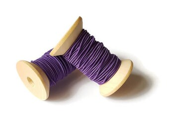 Purple elastic son 1 mm