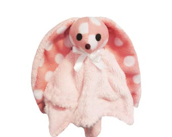 The toy pink soft hand