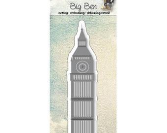 Die cut Joy Crafts Big Ben London new
