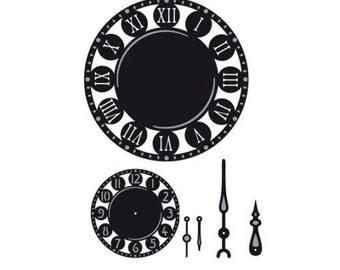 Die cut Marianne Design Craftables clock new