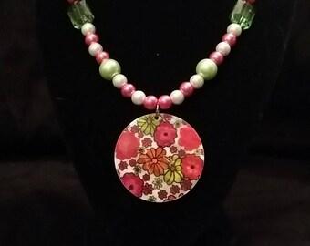Floral Medallion Jewelry Set