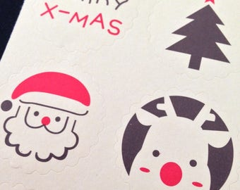 Decal of Christmas - sold by 12 inches (1 sheet)