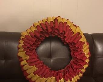 Gryffindor wreath
