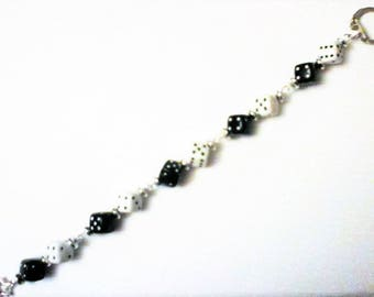 Pants Jewelry Bead of black and white