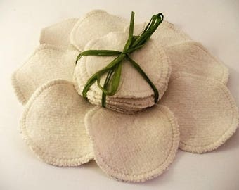 Cleansing wipes - hemp and organic cotton - set of 8