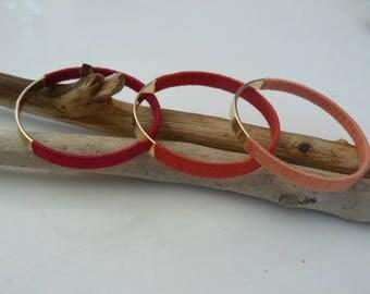 "3 bracelets Bangle ""colours"""