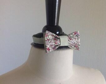 Bow tie baby silk