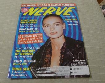 Sinead O'connor NERVE magazine 1993 king missile DINOSAUR JR charles manson