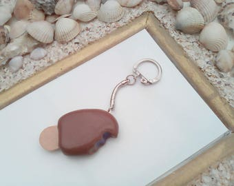 Jewelry bag or Keychain magnum realistic chocolate Blueberry Ice