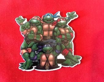 TMNT teenage mutant ninja turtles inspired planar resin