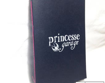 Handmade screen printed Princess Garage book