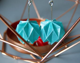 Origami blue tracing paper Lantern balls