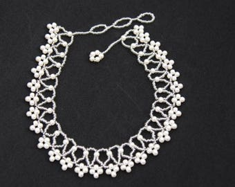 Alluring Pearl Collar